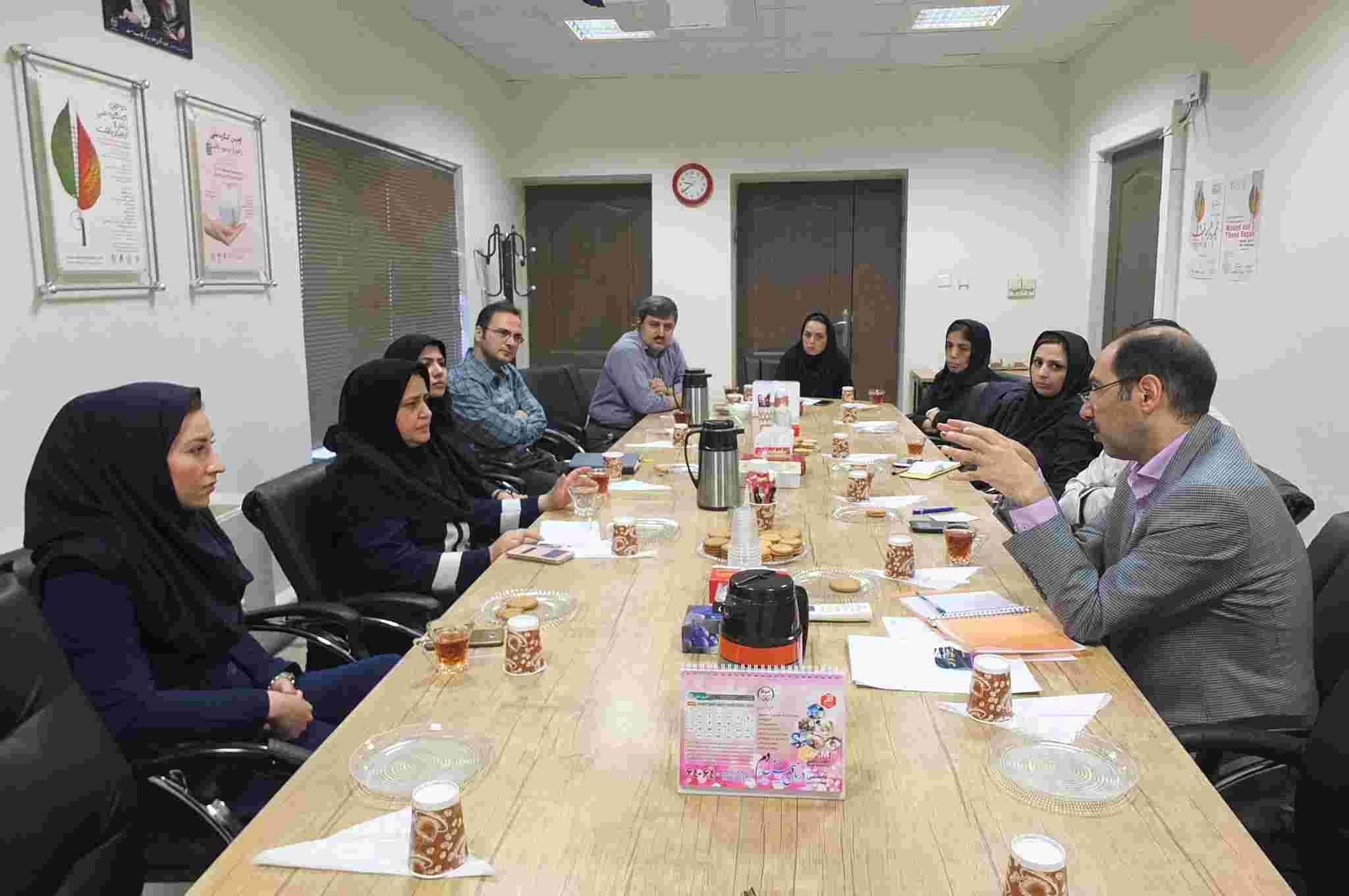 نخستین جلسه شورای علمی معاونت پژوهشی جهاددانشگاهی علوم پزشکی تهران در سال 96