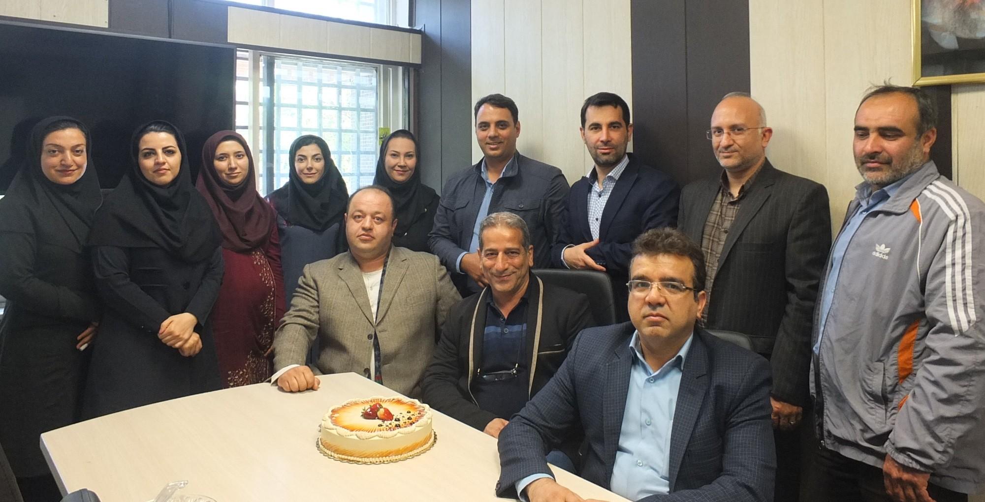هماندیشی رییس جهاد دانشگاهی علوم پزشکی تهران با کارکنان