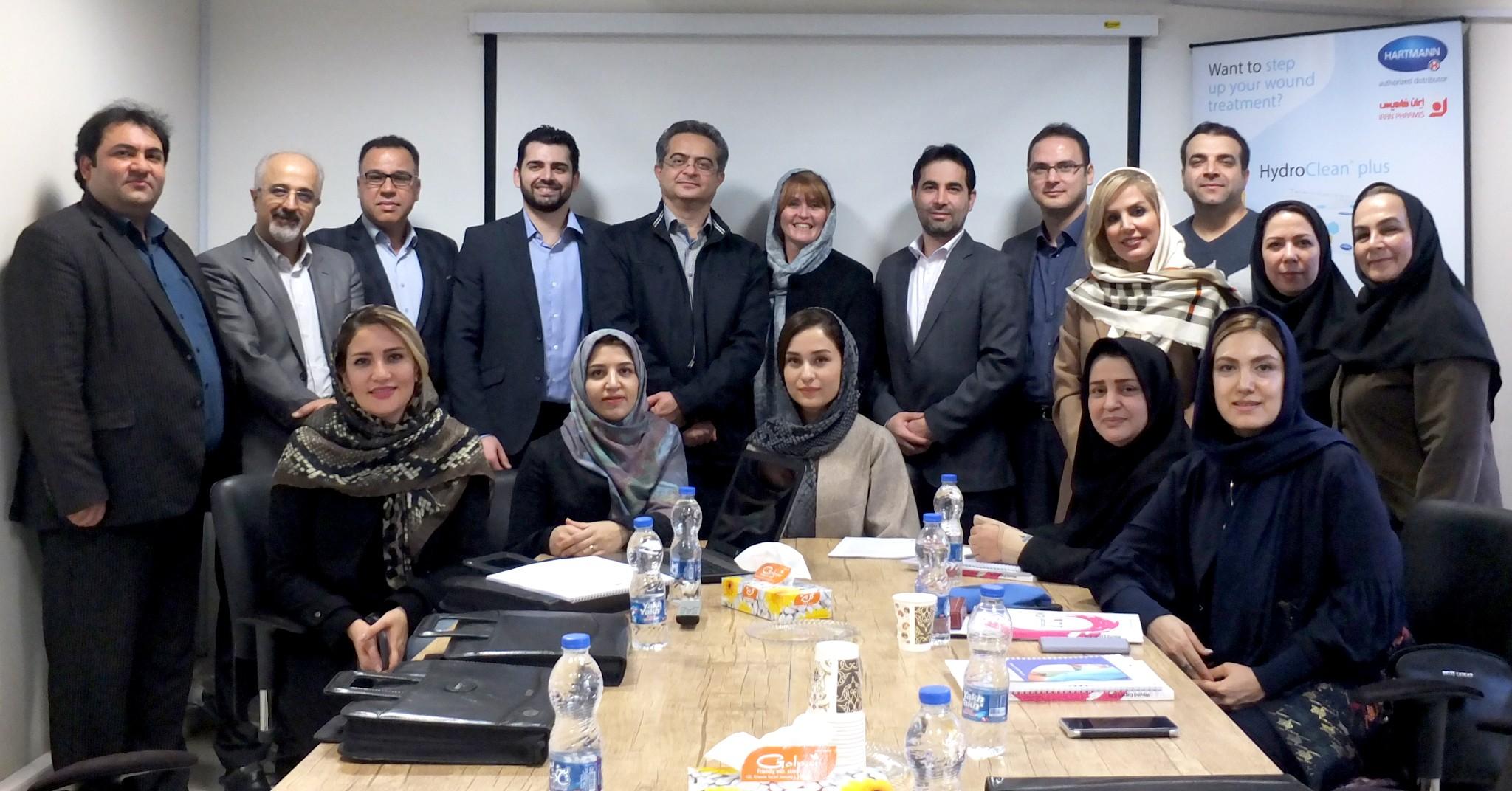اتمام برگزاری اولین دوره بین المللی مشترک جهاددانشگاهی علوم پزشکی تهران و ICW در حوزه زخم و ترمیم بافت