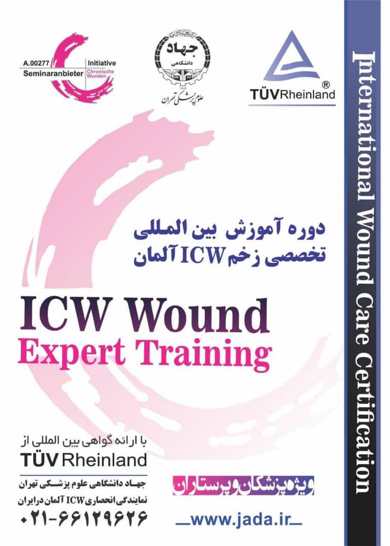 برگزاری دومین دوره بین المللی مدیریت زخم ICW آلمان در ایران