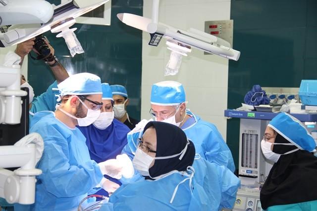متخصصان بیمارستان شریعتی صورت یک بیمار را بازسازی کردند