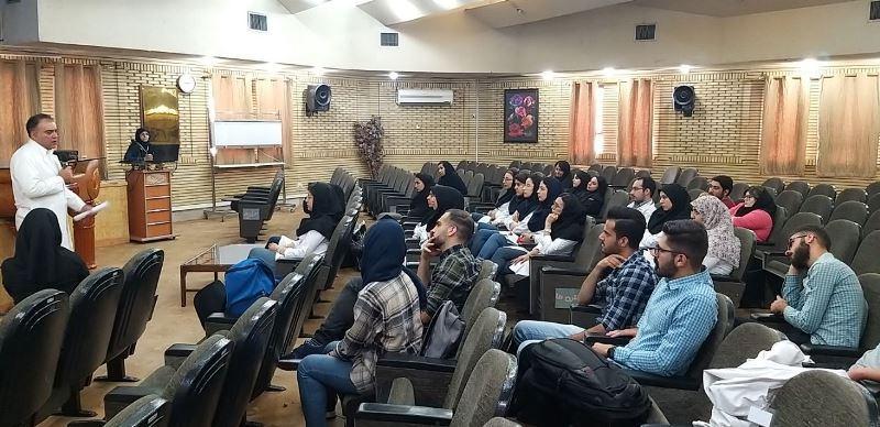 کلاس آموزشی رعایت اصول بهداشت در بیمارستان برگزار شد