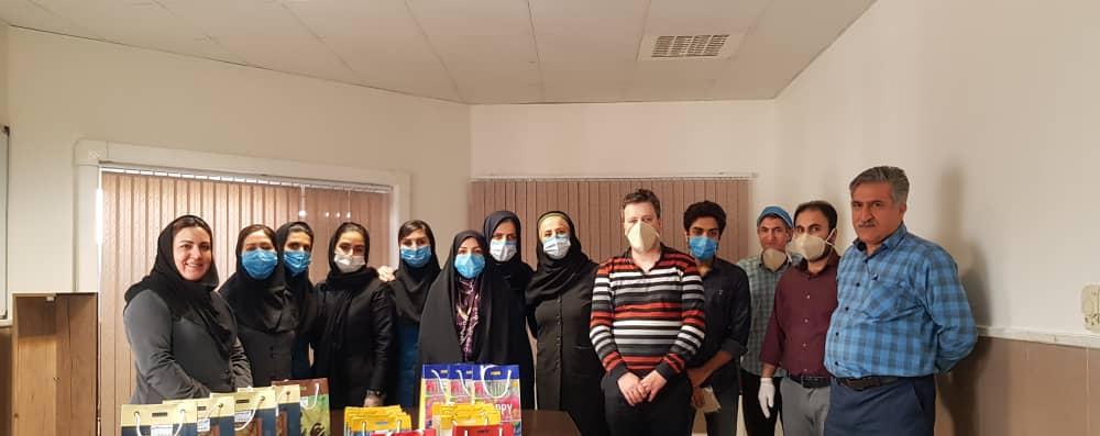 رعایت اصول بهداشتی در قدردانی از پرسنل دندانپزشکی جهاد دانشگاهی