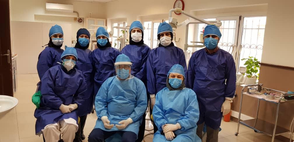 تداوم خدمت رسانی به بیماران مرکز تخصصی دندانپزشکی جهاد دانشگاهی در شرایط کرونایی