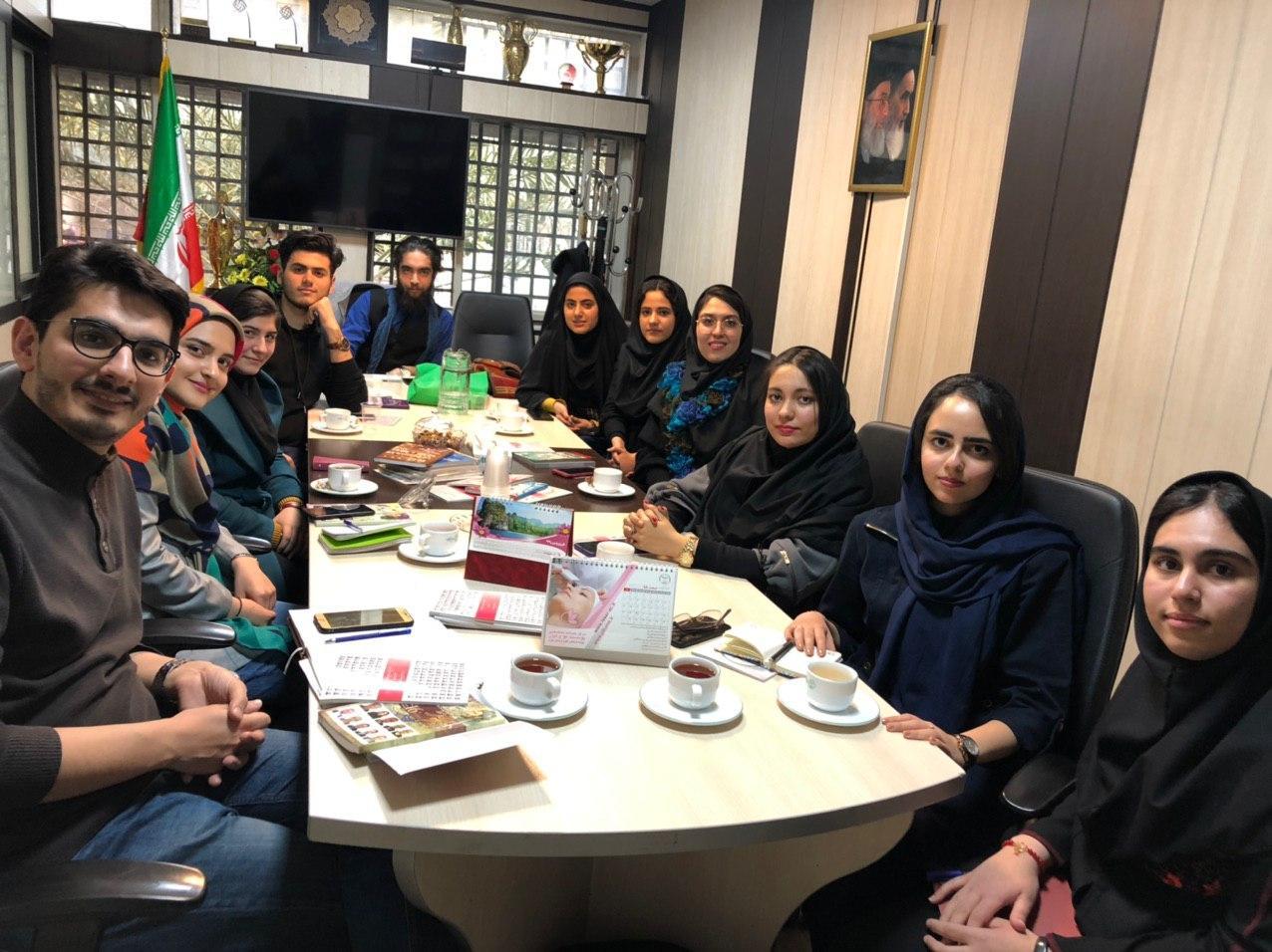 سومین نشست هم اندیشی دبیران و اعضای فعال کانون های دانشجویی با حضور معاون فرهنگی واحد